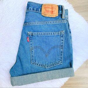 NEW ⭐️ True Vintage Levi's 550 Mom Jean Shorts